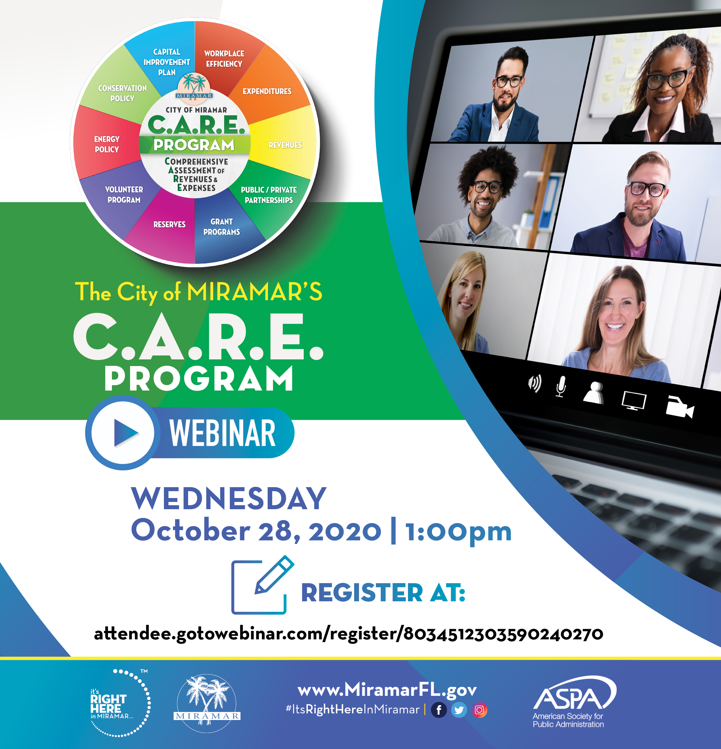 C.A.R.E. Program Webinar Scheduled for October 28 2020 - Home Page Banner