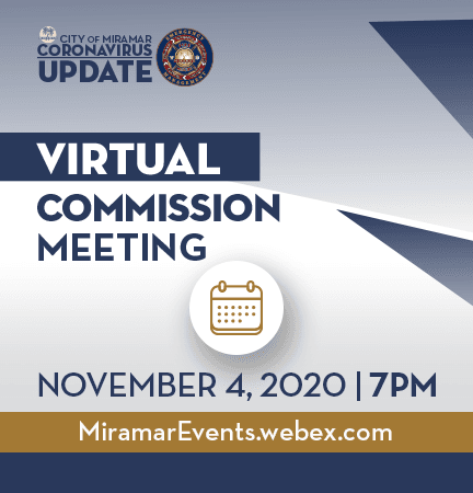 Virtual Commission Meeting 11042020 - News Banner