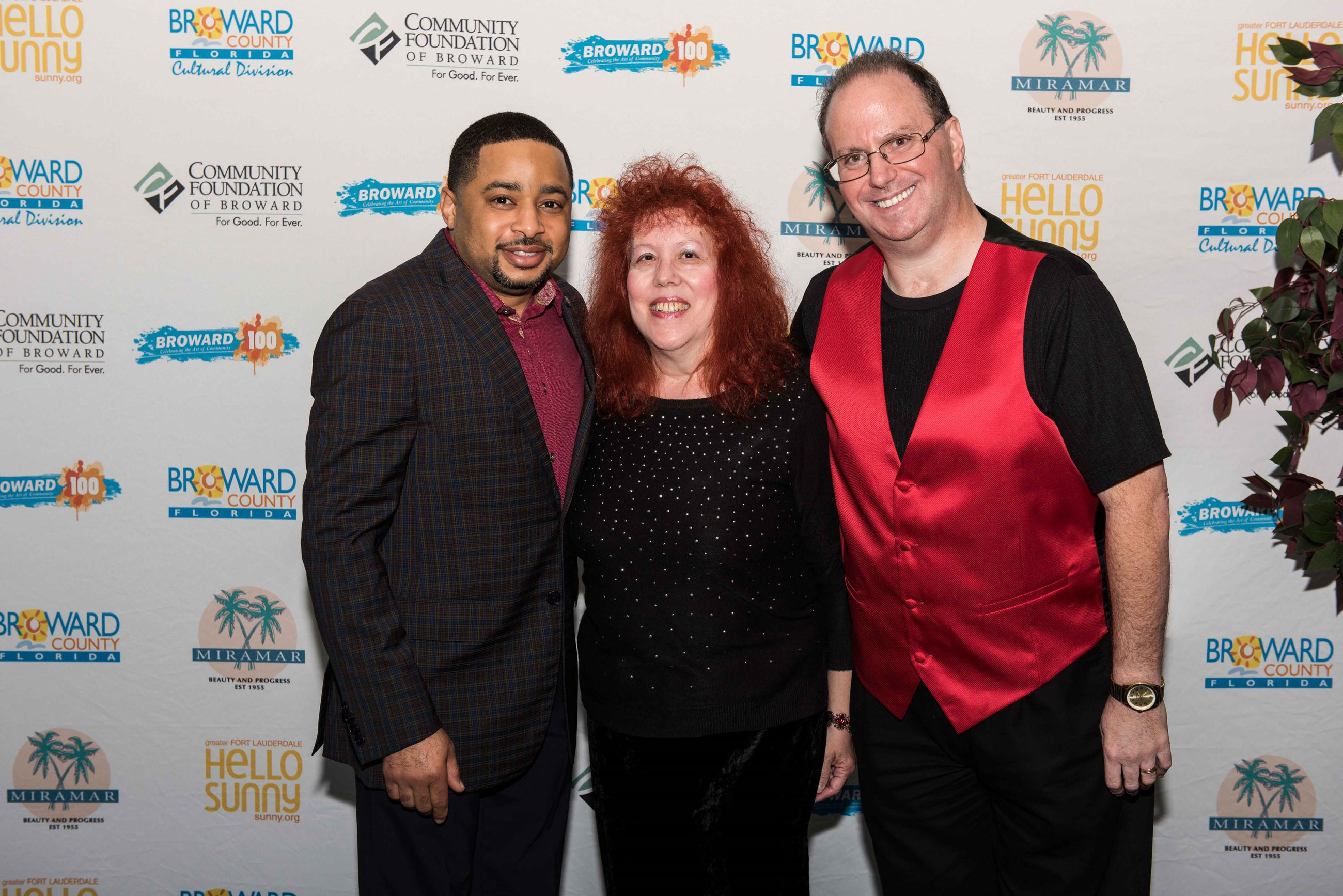 Smokie Norful, Stephen Kantrowitz and Wife