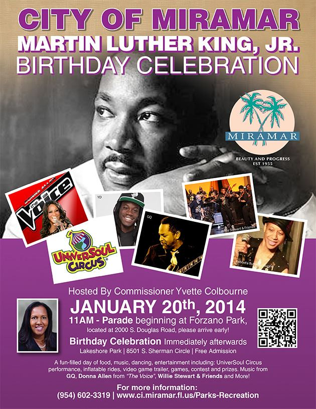 Martin Luther King Jr. Birthday Celebration 2014