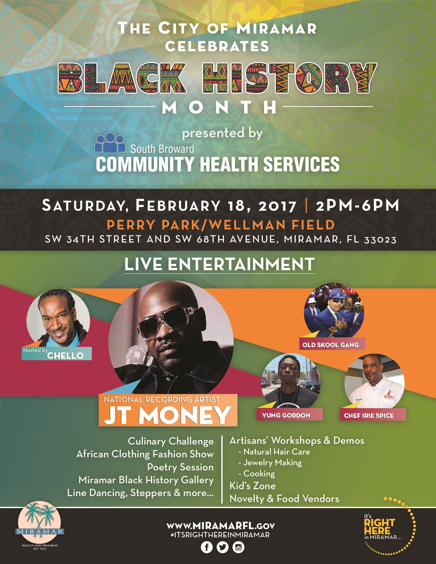 Black History Event Flyer