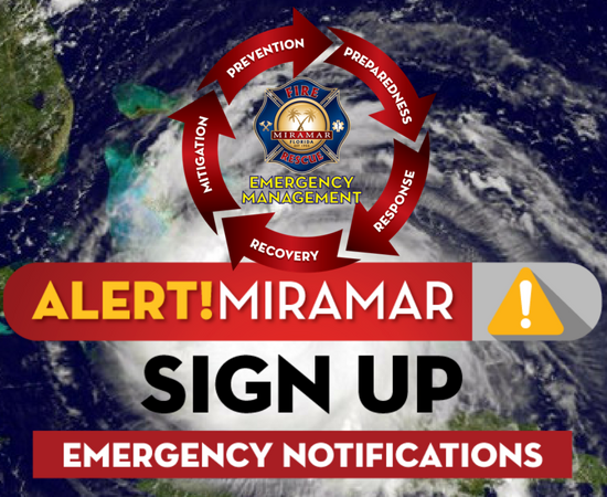Miramar Emergency Alert Notifications